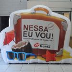 balão inflável Campanha regional de vendas honda