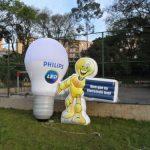 balão-inflável-lâmpada philips