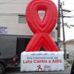 balao inflável luta contra a AIDS