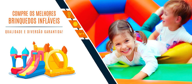 Saturno Infláveis Brinquedos - Banner