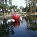 blimp-dirigível-inflável-Vermelho