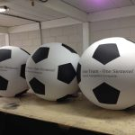 blimp-dirigível-inflável-bola one team - one siemens