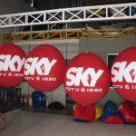blimp-dirigível-inflável-Sky HDTV é isso