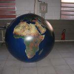 blimp-dirigível-inflável-Globo terrestre