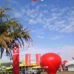 blimp-dirigível-inflável-Agência do Bradesco