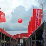 blimp-dirigível-inflável-Banco Bradesco