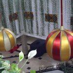 blimp-dirigível-inflável-enfeite de natal