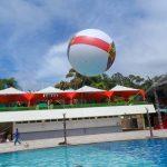 blimp-dirigível-inflável-para piscina