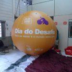 blimp-dirigível-inflável-laranja dia do desafio