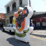 mascote inflavel Botucatu