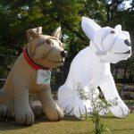 mascote inflável Cachorros