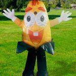 mascotes-infláveis-espiga de milho