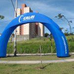 portal inflável Caloi
