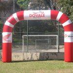 portal inflável Do Vale Motos