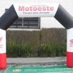 portal inflável Honda motoeste