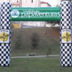 portal inflável Instituto Papaventuras