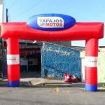 portal inflável Tapajós motos