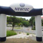 portal inflável newtec volkswagen