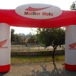 portal inflável Mastter Moto Honda