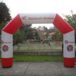 portal inflavel Sanmell motos