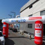 portal inflável Rivalto