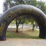 portal inflável Pirelli