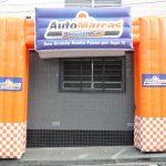 portal inflável Auto Marcas Shopping Car