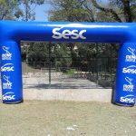 portal inflável SESC, Move Brasil