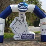 portal inflável CEVA