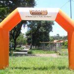 portal inflável Acre FM