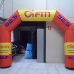 portal inflavel Oi FM