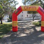 portal inflável Oi FM