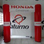 portal inflável Honda consórcio