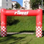 portal inflável Santander
