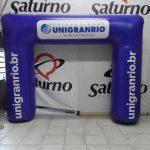 portal-inflável Universidade Unigranrio