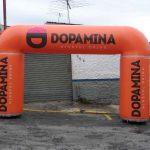 portal inflável Dopamina
