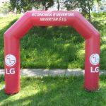 portal inflável LG
