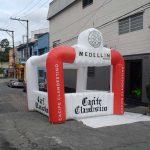 portal inflável Medellin