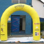 portal inflável Fantástico