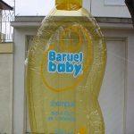 replica inflável baruel baby