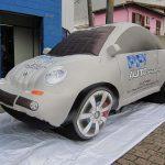 replica inflável carro PPI auto shopping