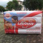 replica inflável sabonete lifeboy