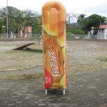 replica inflável fruttare
