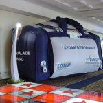 replica inflável bolsa de viagem