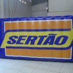 replica inflável sertão