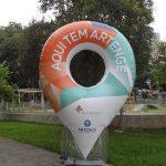 replica inflável Artenge