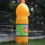 replica inflável garrafa de tampico
