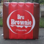 replica inflável Bru Brownie