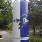 replica inflável lata de energêtico blue ray
