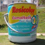 replica inflável resicolor tintas
